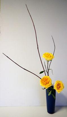 ohara ikebana upright