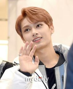 Moon Junhui with earrings
