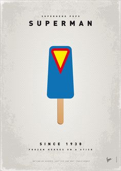 Superhero Ice Lollies - Design - ShortList Magazine