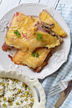 Avagy Óvári sertészelet, ahogy mi készítjük... Camembert Cheese, Dinner, Cooking, Food, Dining, Kitchen, Food Dinners, Essen, Meals