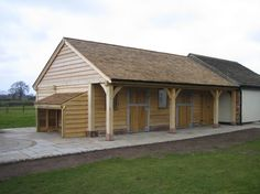cedar roof and oak/softwood cladding