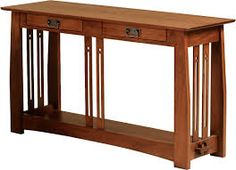 Art and Crafts movement table