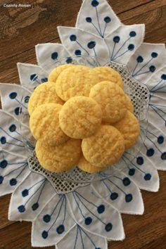 biscoitinho de fubá com limão