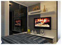 . Flat Screen, Bedroom, Design, Home Decor, Room, Homemade Home Decor, Flat Screen Display, Bed Room, Design Comics