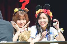 TWICE Hirai Momo and Myoui Mina