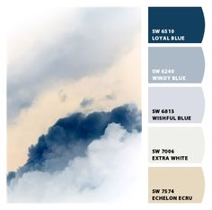 Thundery Clouds from Chip It! by Sherwin-Williams