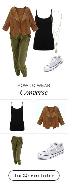 Untitled #159 by miss22salvatore on Polyvore featuring M&Co, Converse, women's clothing, women's fashion, women, female, woman, misses and juniors