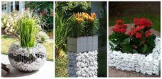 Gabion típusú kerti dekorációk, ha szereted a természetes anyagokat, így tedd különlegessé a kerted!