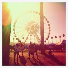 hot desert sun @ coachella.