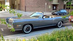 1970 Cadillac Eldorado. 8.2 Litre engine. Over 18 feet in length. They just don't make 'em like that anymore. Maybe Boss Hogg still has one sitting in his garage.