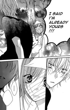 Naruse and Yuki (she finally said it!!!!!!!!) chapter 27