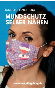 Mundschutz selber nähen – kostenlose Anleitung In our free sewing instructions, we show you step-by-step how you can make your own mouthguard in just a few steps. Without any sewing pattern! Sewing Patterns Free, Free Sewing, Free Pattern, Diy Mask, Diy Face Mask, Sewing Dress, Nose Mask, Mouth Guard, Pocket Pattern