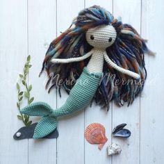 Just another version of my Mermaid Pattern, this is a gift for my mum for her birthday https://www.etsy.com/listing/205140495/miriam-the-mermaid-crochet-amigurumi
