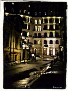 Bucharest, Hotel Epoque one late winter evening. Bucharest, Romania, My Photos, Journey, City, Places, Winter, Photography, Travel