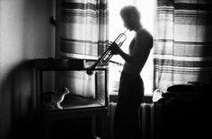 Jason Eskenazi. Trumpet player.  Moscow 1992