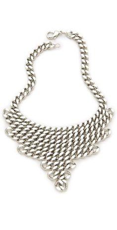 Fallon Jewelry Classique Bib Necklace     $265.00