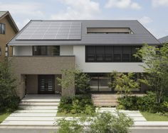 太陽光発電付き住宅