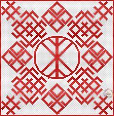 Дерево жизни окружено Символами богов Белобога и Дажьбога. В углах Звезда Креста. Зрительно похоже на часы.А часы это символ земной жизни. Белобог - Славянский религиозный символ бога Белобога - воплощения света, бога добра, удачи, счастья, олицетворяющего собой дневное и весеннее небо. Имеющий этот знак всегда будет и с урожаем и с деньгами. Белобог - Знак добра и благополучия, хранит от ссор и творит лад в семье.  Звезда Креста символизирует собой удачу, успех и…