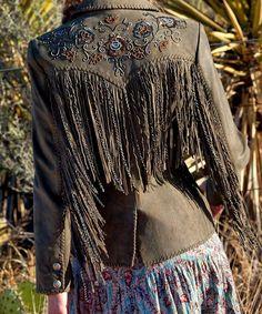 Feeding my Cowgirl fringe addiction. -I'd wear that in a heartbeat! Estilo Cowgirl, Cowgirl Chic, Estilo Boho, Cowgirl Style, Cowgirl Boots, Bohemian Gypsy, Gypsy Style, Bohemian Style, Boho Chic