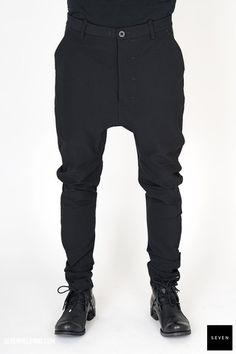 Boris Bidjan Saberi P4-F1401L-C4 766 € | Seven Shop Parachute Pants, Fall Winter, Black Jeans, Shopping, Fashion, Moda, Fashion Styles, Black Denim Jeans, Fashion Illustrations