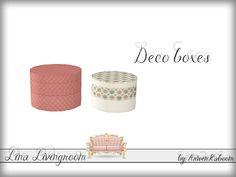 ArwenKaboom's Lina Livingroom - Deco Box