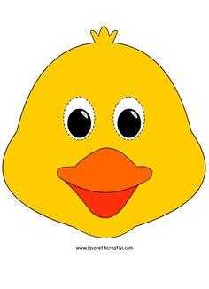 chick-mask templates animal