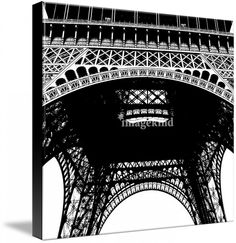 Eiffel Tower Black and White by Tammy Winand #photography #imagekind