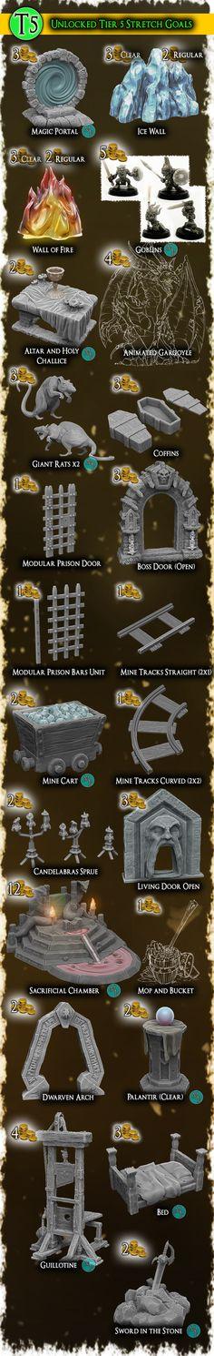 Twisting Catacombs . Miniature Dungeon Scenery by Zealot Miniatures — Kickstarter