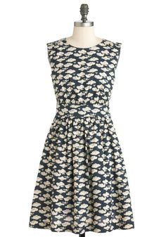 Too Much Fun Dress in Airplanes. Theres probably no such thing as overloading on fun, but if such a thing were possible, why not go all-out in this adorable sleeveless dress?  #modcloth