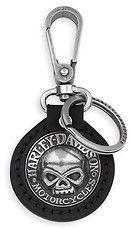 Brelok Skull Harley-Davidson. Wyjątkowy brelok dla miłośników marki Harley Davidson z charakterystycznym motywem czaszki. Dostępny na www.Motocyklowy.pl #gadgety #gadzety_motocyklowe #harley_davidson