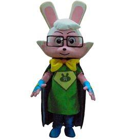 Super Rabbit Mascot Costume