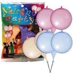 Boobs Balloner - Få de sjove bryst-formet balloner til enhver fræk festlig lejlighed eller som sjov gave i pakkespillet.