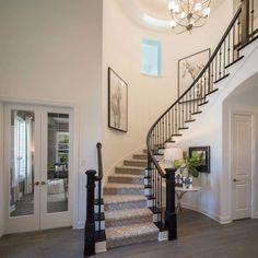 Highland Homes plan 297 in Prosper, Texas at Parkside Prosper community.