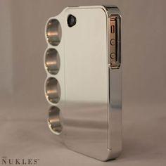 Chrome Nukle iPhone Case