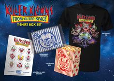 On Wednesday, May 11 we will be unleashing a slew of new goodies based on one of my favorites, Killer Klowns From Outer Space! Ever since we signed on with MGM