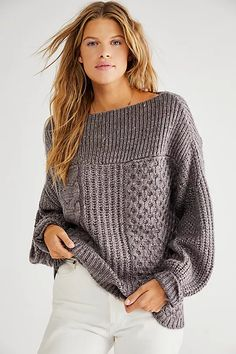 New Dream Pullover | Free People Geometric Fashion, Free People, Turtle Neck, Pullover, Sweaters, Sweater, Sweatshirts, Pullover Sweaters, Shirts