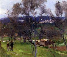 Olive Trees Corfu 1909 | John Singer Sargent | Oil Painting