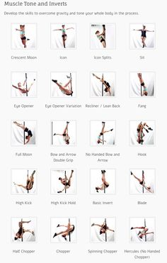 Pole Dance Training - Muscle tone and inverts Part 1