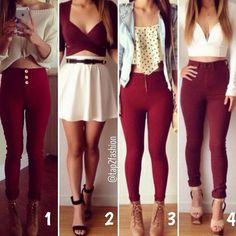 1, 2, 3 OR 4!? 😍 #fun #teenchoice #girllife #girlboss #fashionlook #funny #fashion #fashiongirls #funnypics #girlworld #funnyaf #teen #teens #teenagers #fashionista