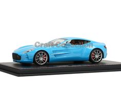 248.80$  Buy now - http://ali72v.worldwells.pw/go.php?t=32773230655 - * TIFFANY BLUE 1:18 Aston Martin One 77 2009 Sport Car Diecast Model Show Car Miniature Toys Alloy Gifts Collection Minicar 248.80$