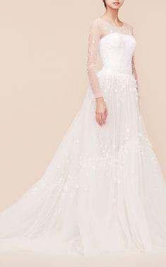 Georges Hobeika Bridal Long Sleeve A-Line Gown at Moda Operandi (affiliate link)