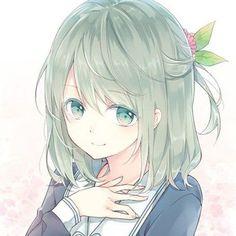 Beautiful Anime Lady.  ❤
