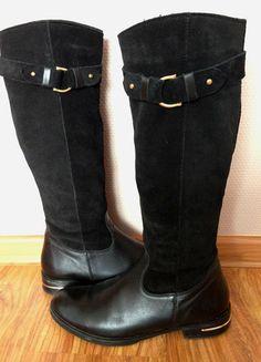Kup mój przedmiot na #vintedpl http://www.vinted.pl/damskie-obuwie/kozaki/10352590-ocieplane-skorzane-kozaki-venezia-39