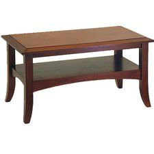 Levin Antique Walnut Coffee Table