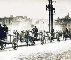 İstanbulun çöpleri bir zamanlar bu arabalarla toplanırdı...
