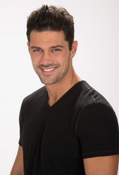 "Actor Ryan Paevey from ""General Hospital"" exemplifies the man I had in mind when I described the hero, Mitch McKenna."