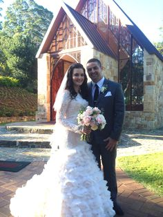 #thechapel #poetscafechapel  Inaugural wedding for Cassie and Carlos at 'The Chapel' Montville  Suzanne Riley marriage Celebrant