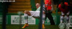 Celtic 2-1 Dundee, 22nd November 2014. John Guidetti celebrates.