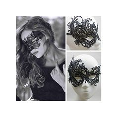 Hot Eye Mask Sexy Lace Venetian Masquerade Ball Halloween party Fancy Dress * You can get additional details at the image link.