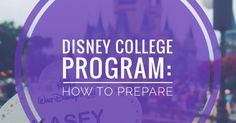So you're accepted and officially doing the Disney College Program and it's getting real right? And you're probably freaking out becau. Disney World Jobs, Disney World Characters, Disney Parks, Disney Bound, Disney And More, Disney Love, Disney Stuff, Disney Internship, Disney World Tips And Tricks